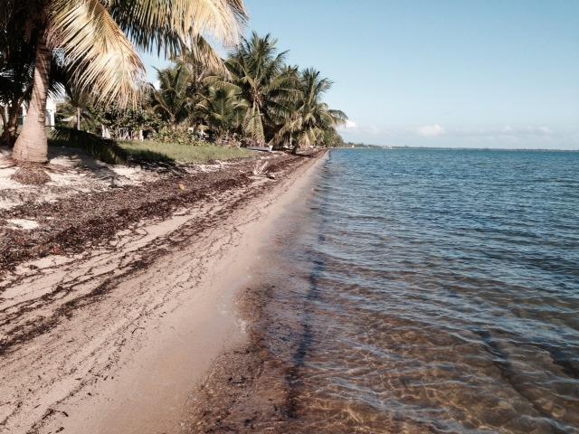 La mejor playa en Belice!