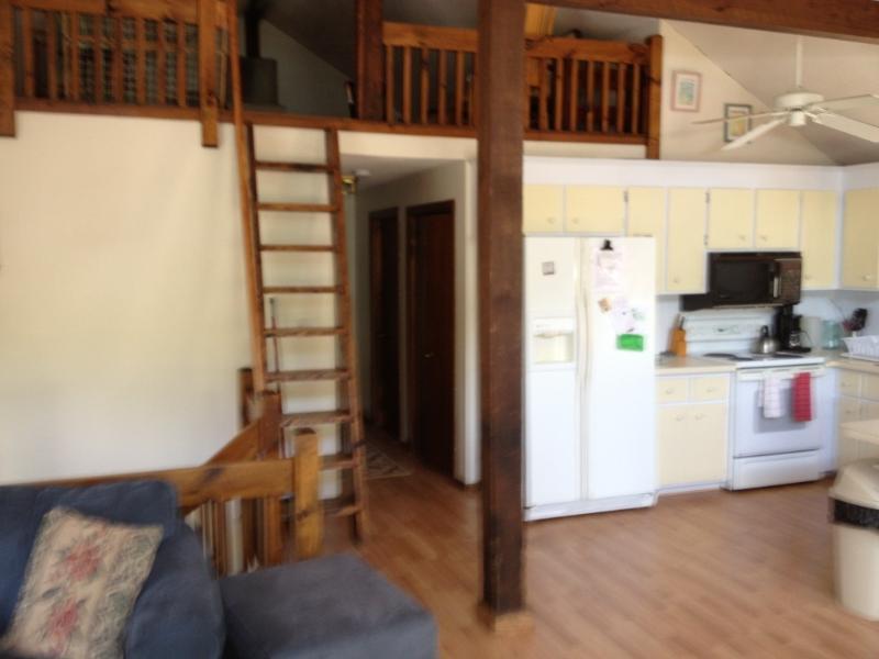 kitchen ladder to loft