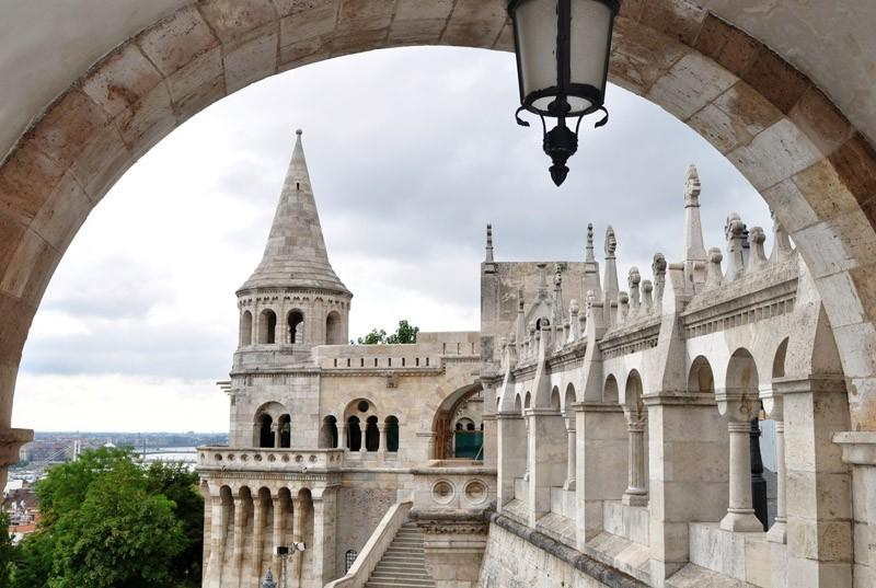 Fisherman's bastion - just a few steps away