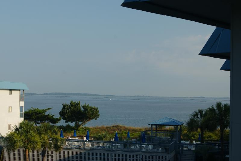 Partial Ocean/Dolphin View from 3rd Floor Balcony