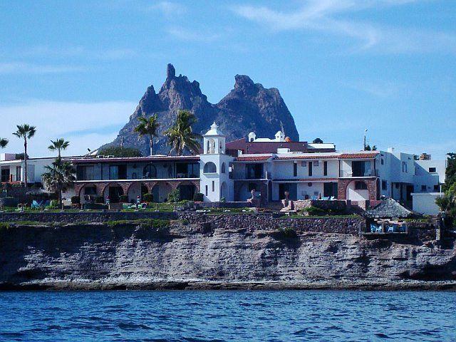 Casa Satuario aus der Sea of Cortez