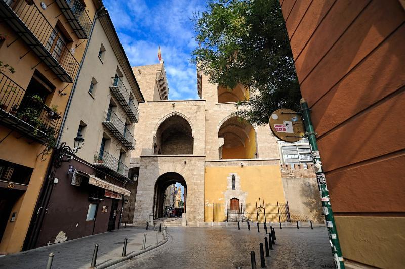 Torres dels Serrans, near the apartment