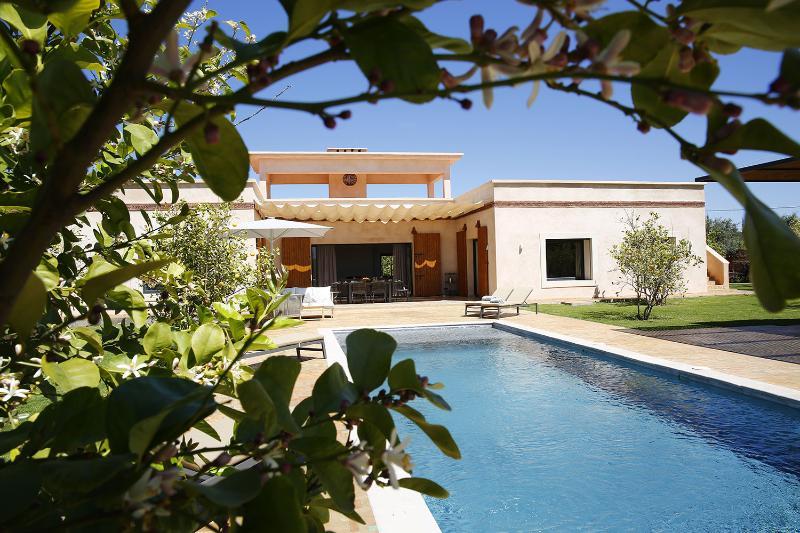 Salamouni - Vue de la piscine