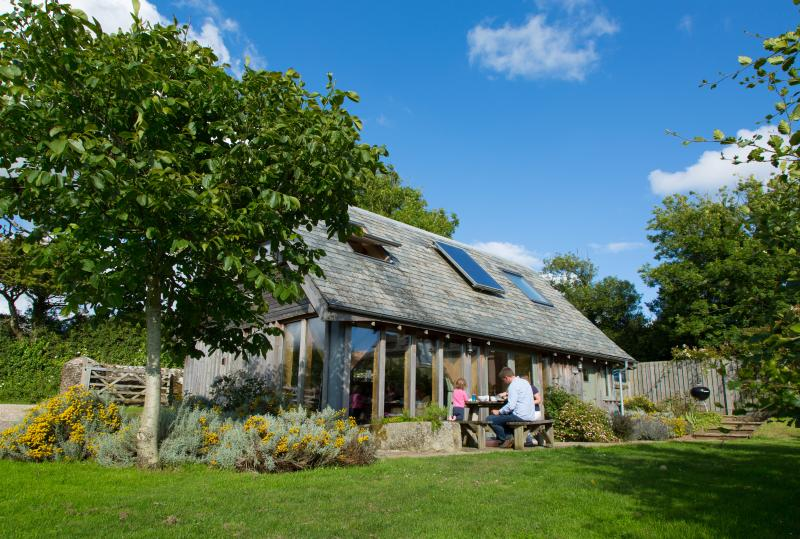 The Lodge - our stunning 'eco-lodge' sleeping up to 4 people. Dogs welcome