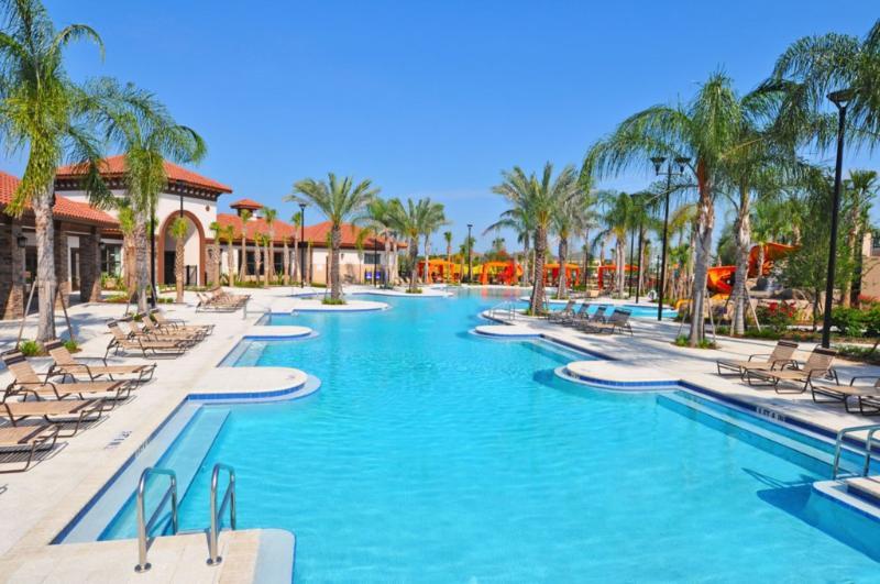 Costruzione, Piscina, Acqua, Hotel, Resort