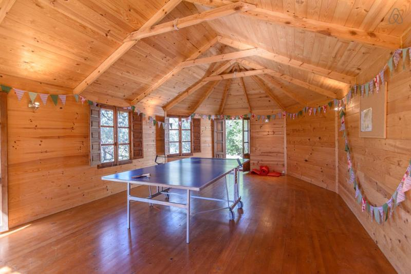 The Olive Hut - for table tennis, games and yoga