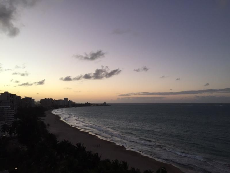 Beutiful zonsondergang