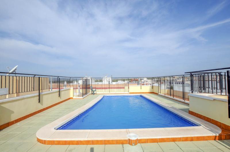 Terraço com piscina