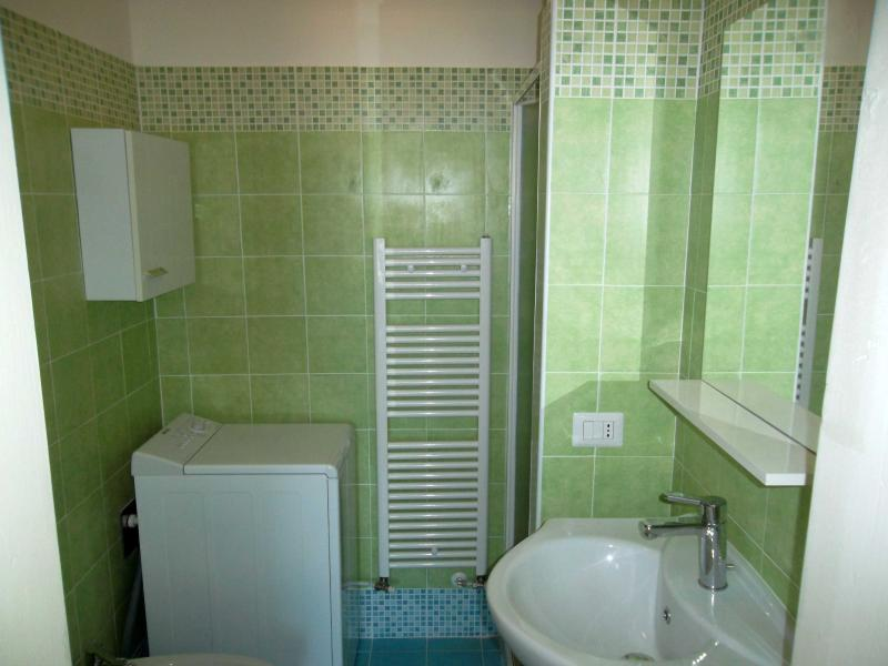 Bathroom with washer-dryer