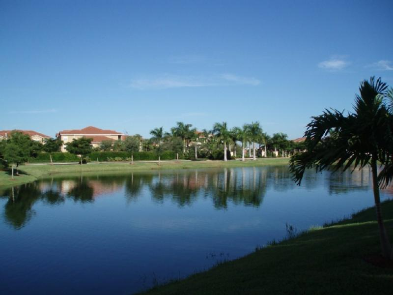 Gorgeous view from lanai. Minutes away from Sanibel Island, Bunche Beach and Ft. Myers beach.