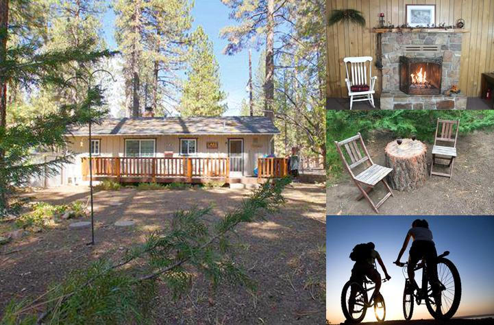 Nestled among the pines and only 500 ft to the National Forest, 3 Little Bears sleeps 5 comfortably