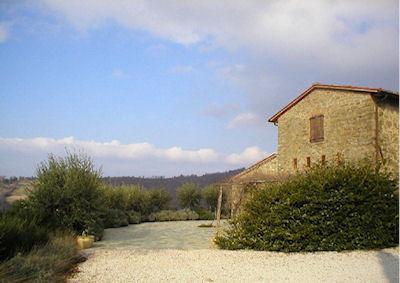 LA PALAZZA - CLASSIC UMBRIAN STONE BUILT COTTAGE, casa vacanza a Castel Rigone