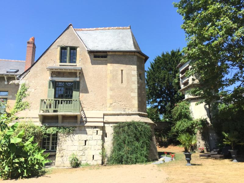 Loire Valley Medieval Loft: Thirteen's century side of the property