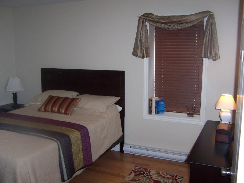 lower level bedroom -Queen bed