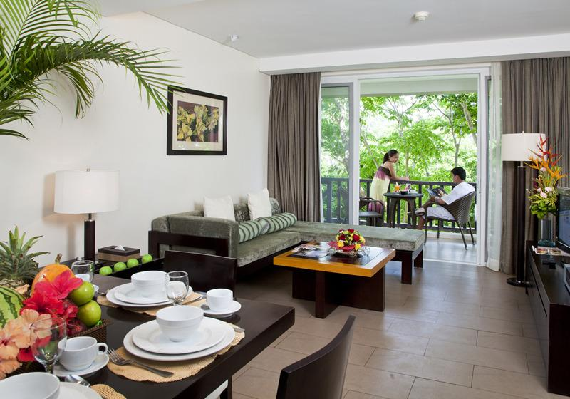 Balcony, Living and Dining Rooms