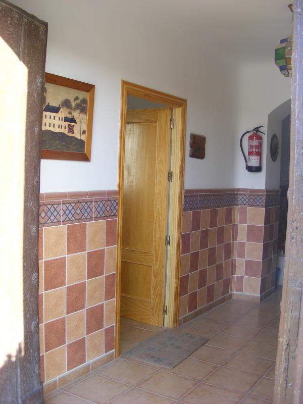 Entrance to La Parra, withing main entrance