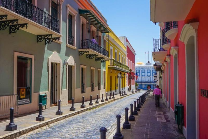 Old San Juan is only 5 miles away