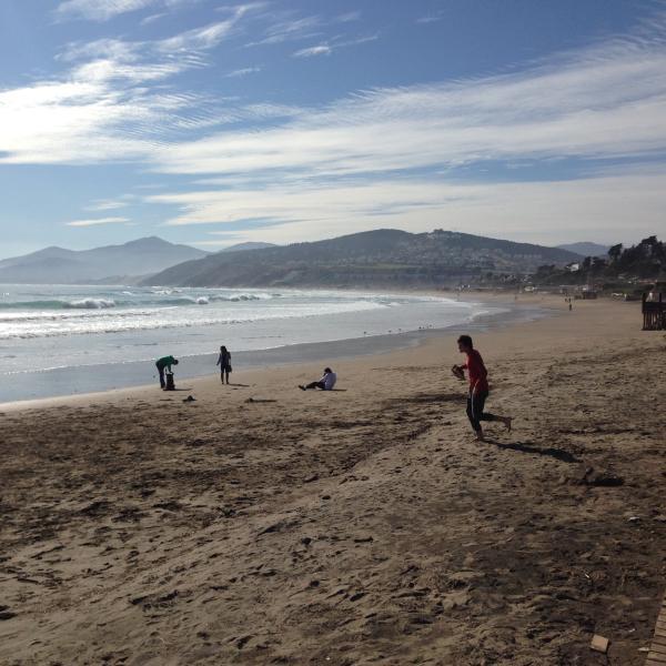 Maitencillo, nearby beach 1