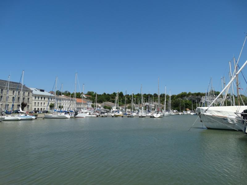 The beautiful port at Mortagne - 45 mins walk - has bars/restaurants
