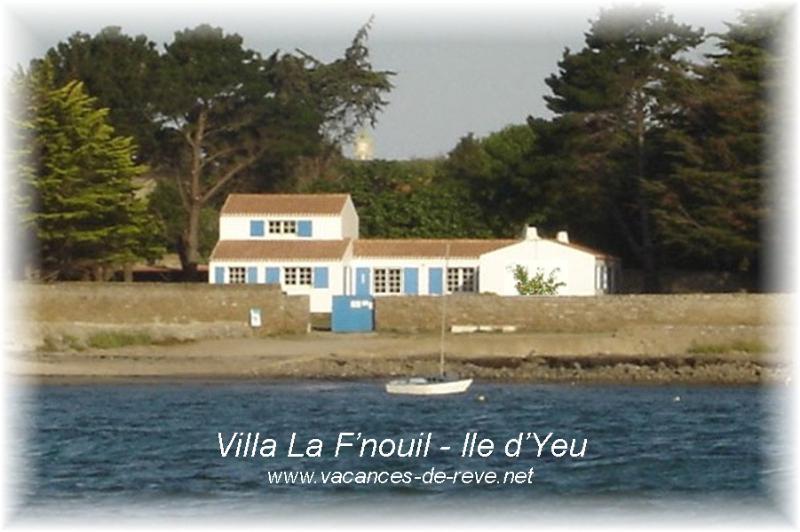 Villa La F'nouil - Ile d'Yeu, vakantiewoning in Ile d'Yeu