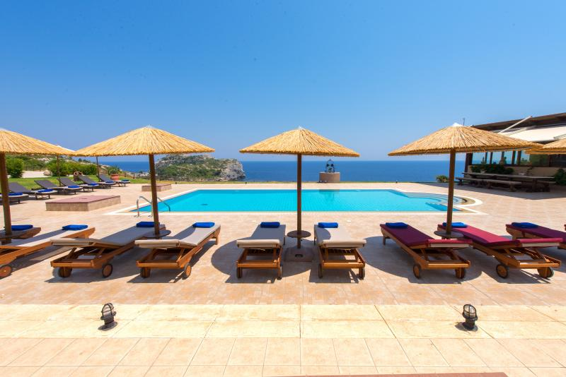 Black Diamond Villa Pasithea in Rhodes Greece, holiday rental in Ladiko