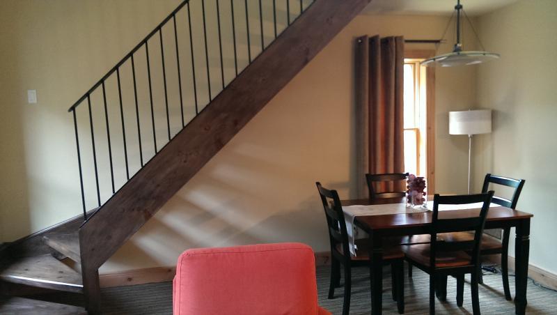 Open Stairway over Dining Area