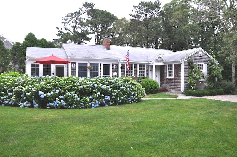 Front View of Home - 58 Longs Lane Chatham Cape Cod New England Vacation Rentals