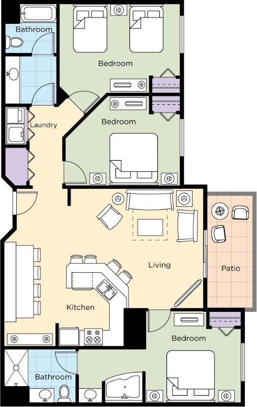 Muestra de condominio configurado