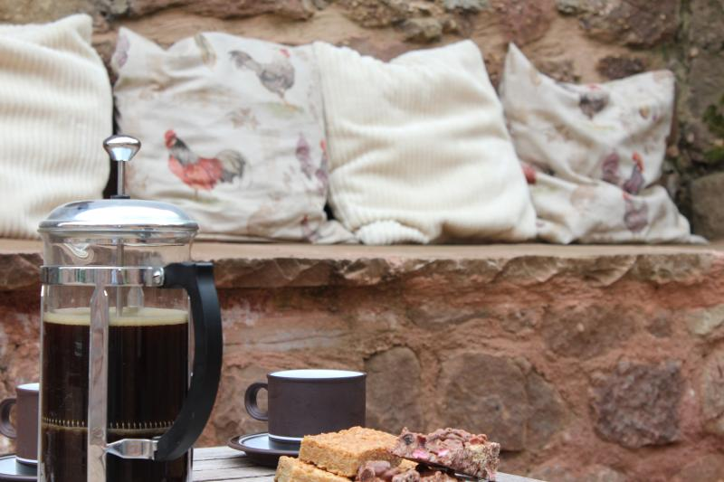 Coffee in the Courtyard
