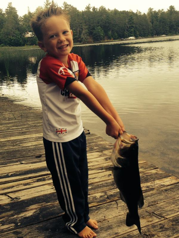 Fish On!  August 2015