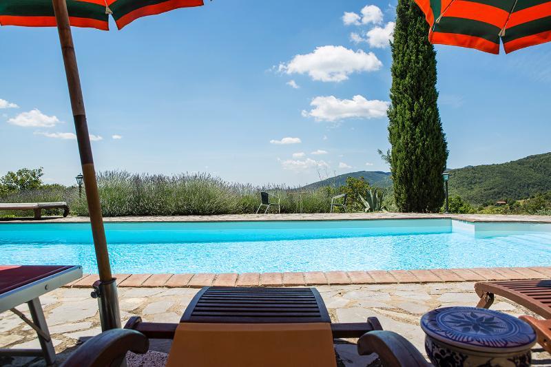 Tuscany Villa Bellavista, holiday rental in Castiglion Fiorentino