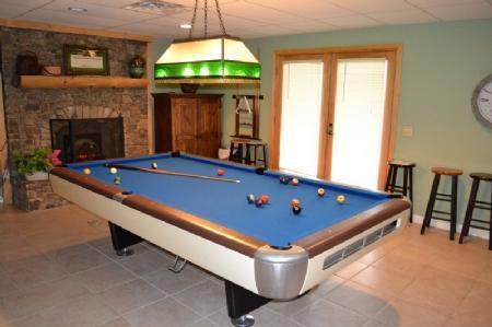Enjoy a Game of Pool w/ Microwave and Mini-fridge