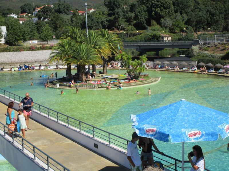 Castanheira de Pera Water Park.  5 Euros each person