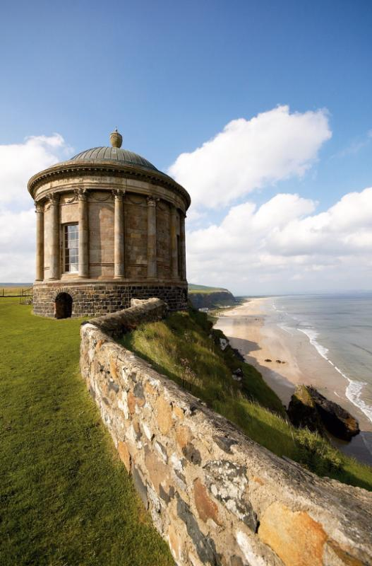 Mussenden Temple and Benone Beach