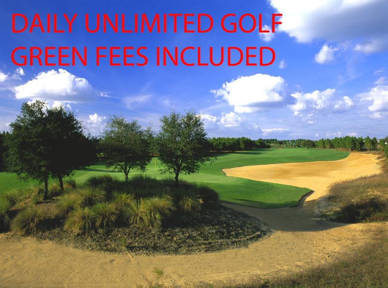 Daily Unlimited Golf included at Home Course
