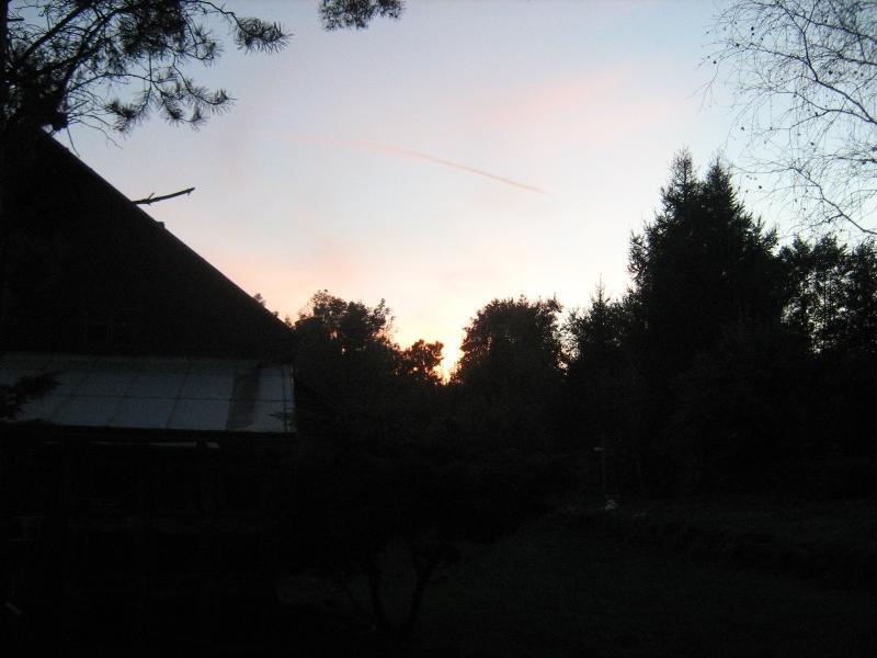 Západ slunce nb Salmov?