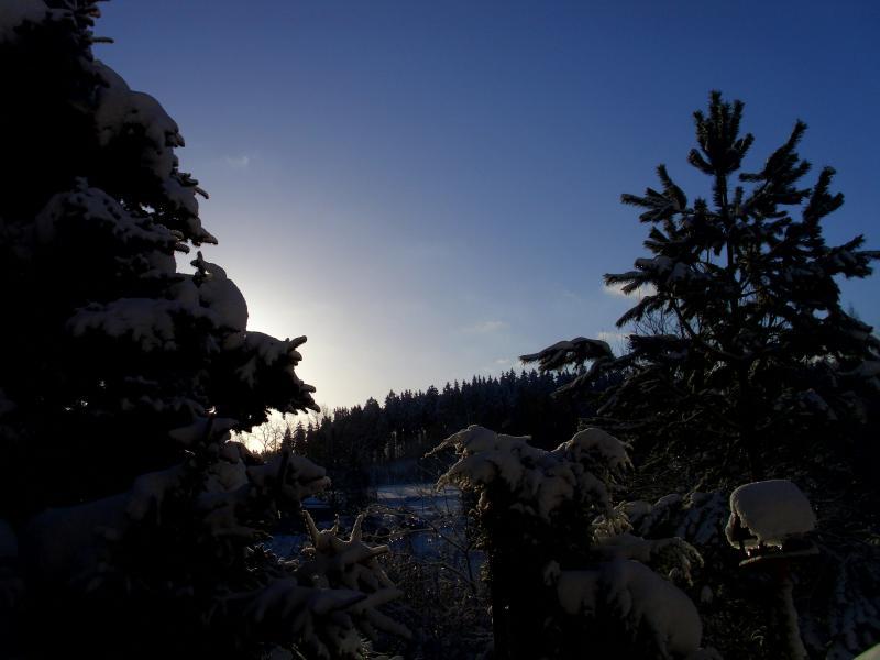 Západ slunce nad Salmovem