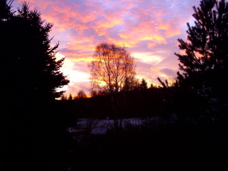 Podzimní východ slunce nb Salmov?