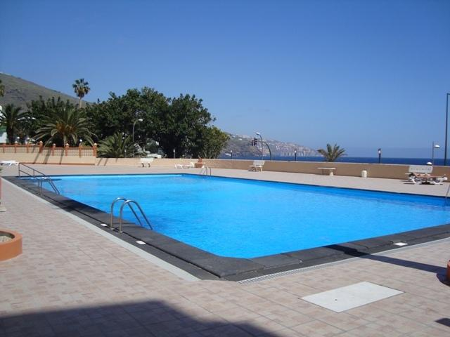 Big Pool (salt water). Piscina central de agua salada en planta PB. Pool with salt water