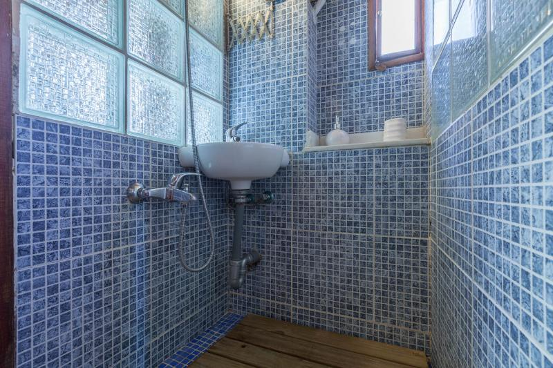 lavabo and shower