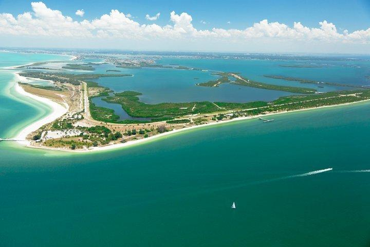 Fort De Soto is 15 minutes south.
