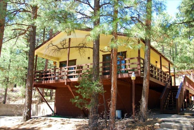 Nice Cabin in the Tall Pines - Wrap Around Deck, vacation rental in Ruidoso
