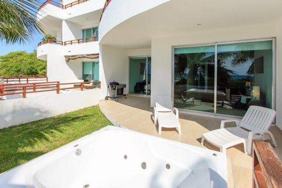 Condos for rent Playa del Carmen - Private terrace - Casa del Mar Zanzibar