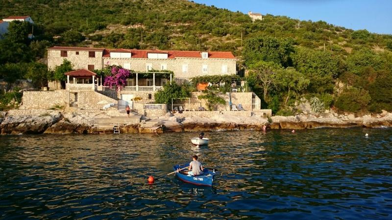 Studio on the beach,amazing views,private terrace, holiday rental in Dubrovnik