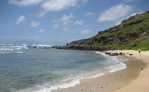 Several beaches within walking distance