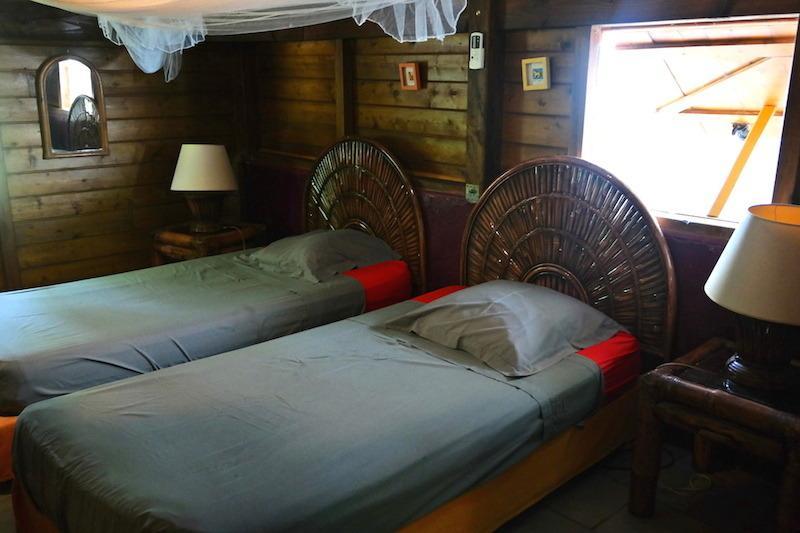 habitación 2 camas individuales o 1 cama doble