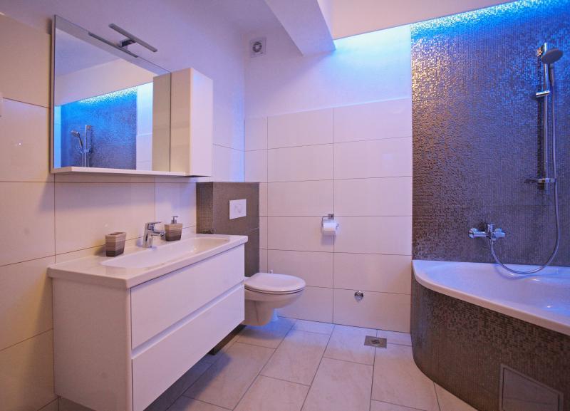 Bathroom with lights 2