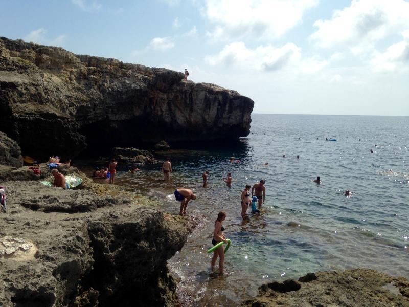 Grottaverde plage