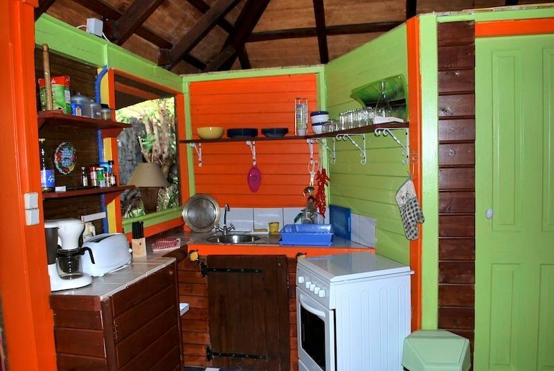 cozinha terraço com vista
