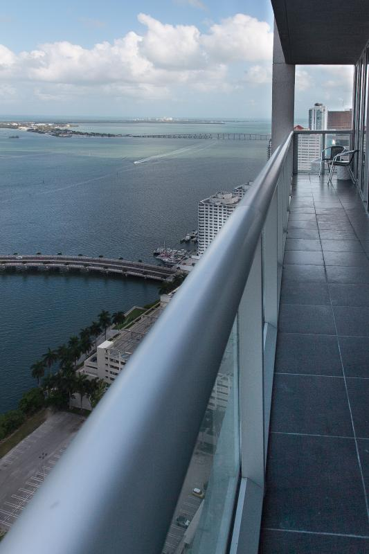 Sit and have a drink on your balcony while enjoying the views